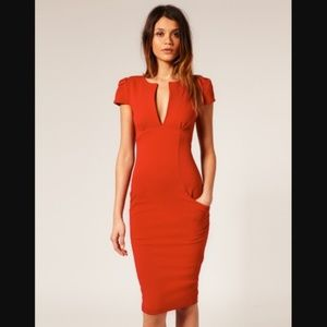 ASOS Bodycon Midi Dress